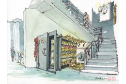 樓梯下的黃金寶庫