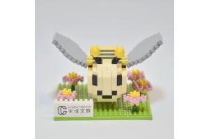 迷你積木出奇盒「蜂巢 Q Bee」